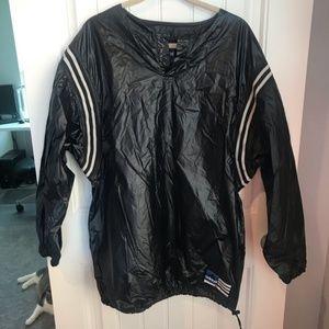 Adidas pull over vintage jacket XL windbreaker 90s